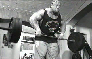 dorian yates training