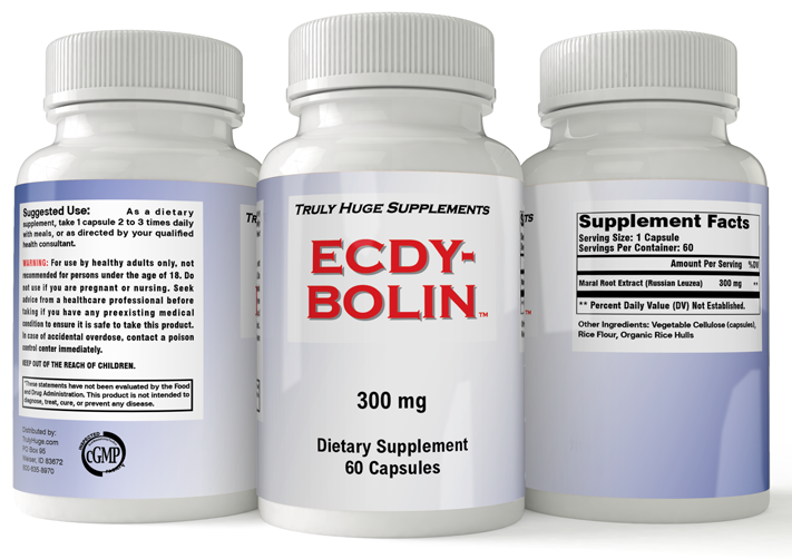 Ecdy Bolin Ecdysterone Supplement