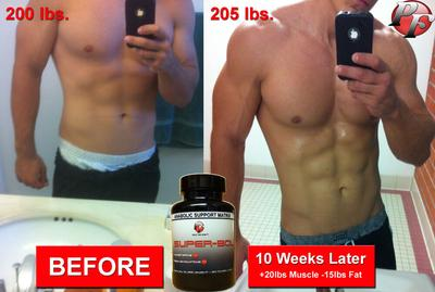 Bodybuilding Before and After Turkesterone