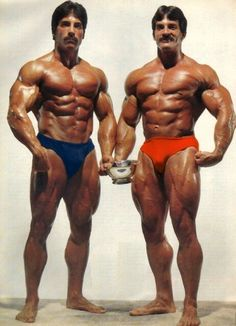 Mike and Ray Mentzer